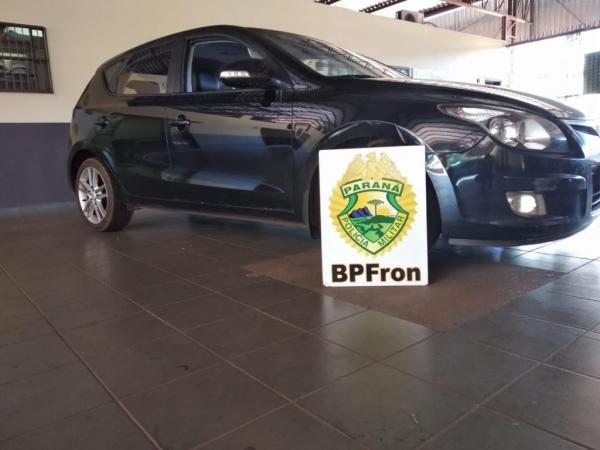 O veículo foi furtado no dia 29 de novembro. (Foto: BPFRON)