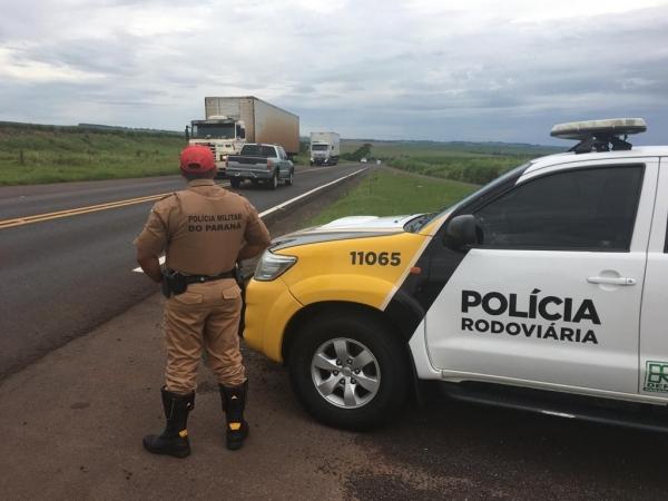 A 3ªCia de Polícia Rodoviária Estadual, com Sede em Cascavel, divulgou nesta sexta-feira (11) o balanço dos resultados referente aos trabalhos desenvolvidos no ano de 2018 (Foto: PRE/Divulgação )