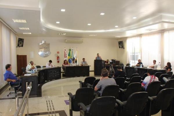 Sessão da Câmara. (Fotos: Portal Nova Santa Rosa