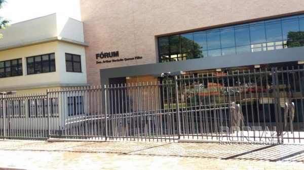 Fórum Marechal Rondon. (Foto: Reprodução)