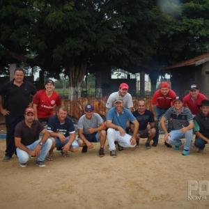 Equipe de assadores. (Fotos: Portal Nova Santa Rosa)