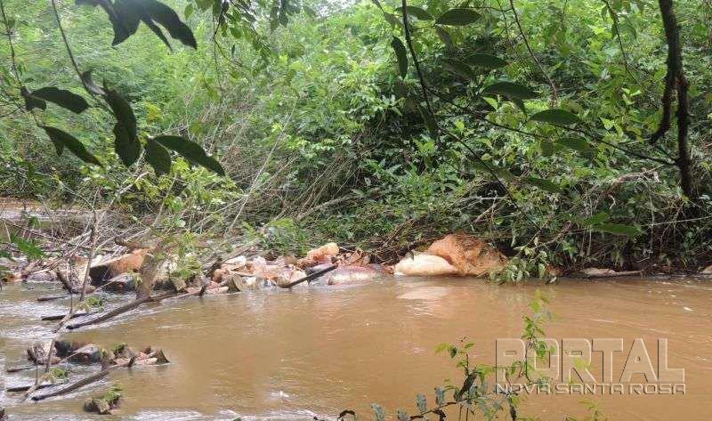 Corpo é encontrado em rio da região